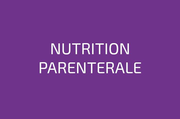 Nutrition Parentérale BFC Médical