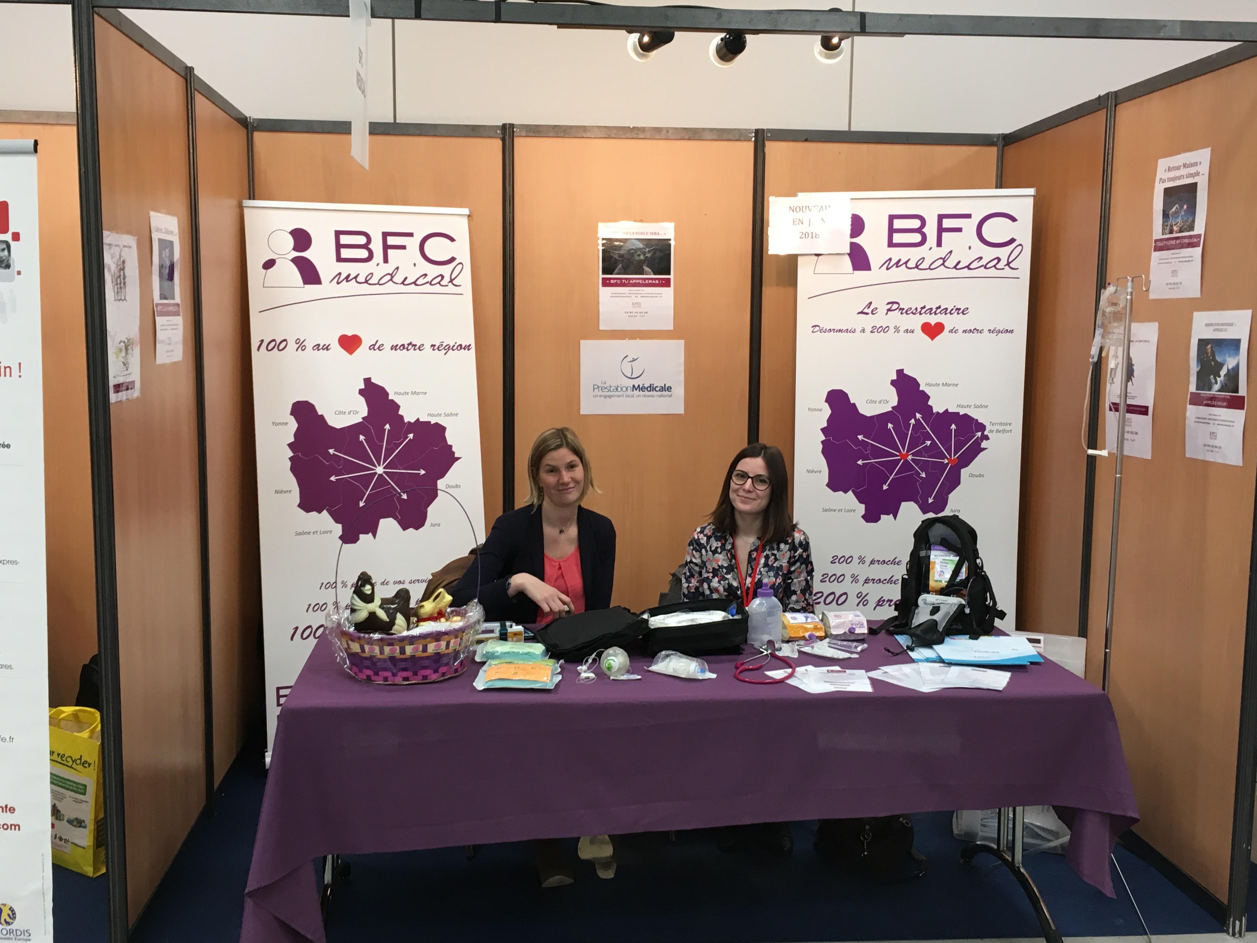 STAND BFCMédical CONGRES Pédiatrie 2018!